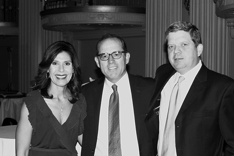 KMS Senior Partner Patrick Stockalper, Sandra Stockalper, and Senior Associate David Rubaum