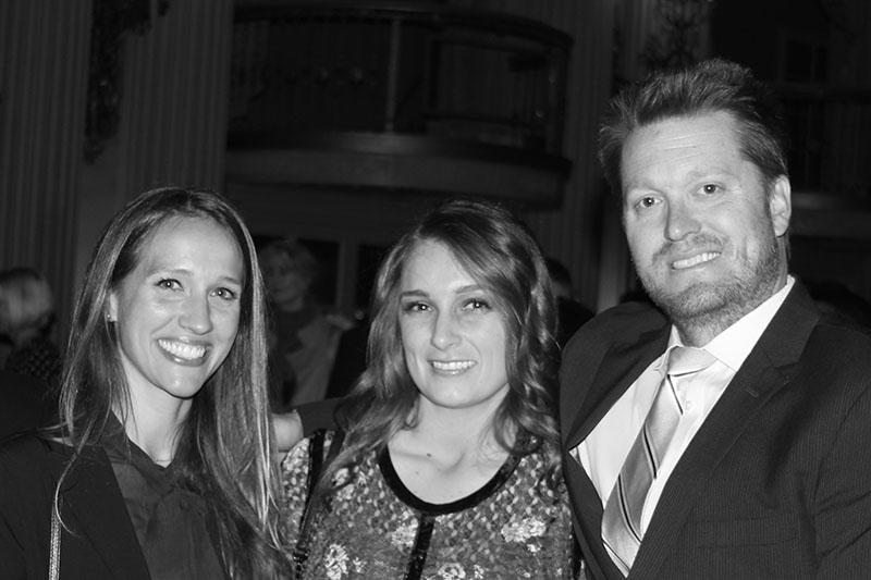 KMS Partners Melissa Wetkowski and Ryan Deane and Associate Hannah Dunn